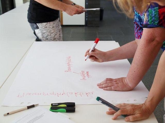 Gruppenarbeit und lebendiges lernen durch suggestopädische Lerneinheiten in der Ausbildung zum Heilpraktiker für Psychotherapie in Gelnhausen, Hanau, Büdingen