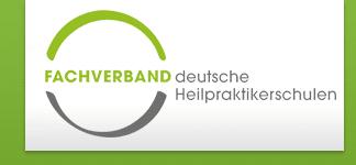 Das Logo vom Fachverband Deutsche Heilpraktikerschulen